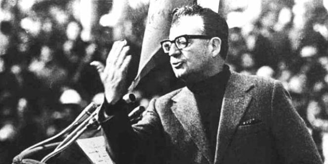 L'ancien président du Chili Salvador Allende (photo non datée).