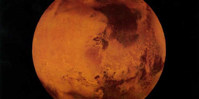 Vue d'ensemble de Mars, la Planète rouge.