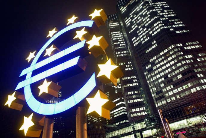 Les bureaux de la Banque centrale européenne, à Francfort, en Allemagne.