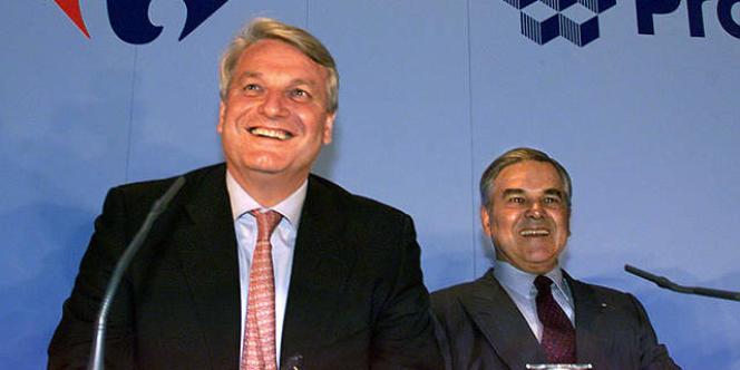 Daniel Bernard, l'ancien PDG de Carrefour.
