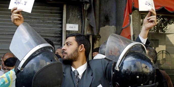 Un opposant au président égyptien, Hosni Moubarak.
