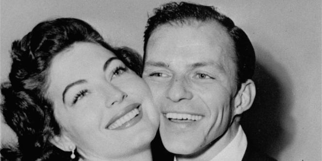 Ava Gardner et Frank Sinatra après leur mariage à Philadelphie, le 7 novembre 1951.