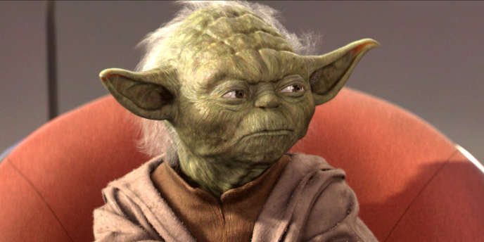 Maître Yoda, l'un des plus célèbres personnages de la saga
