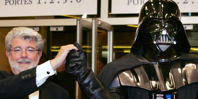 Le réalisateur américain George Lucas, à Cannes.