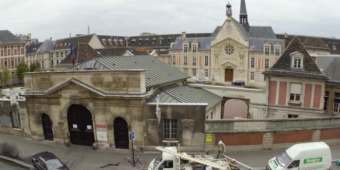 Vue générale de l'ancien hôpital Laënnec.
