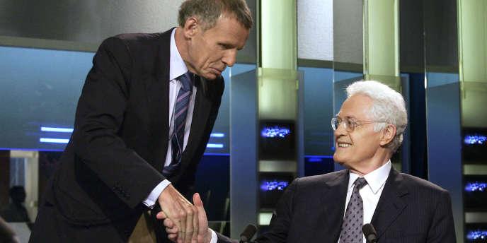 Invité du journal télévisé de TF1, mardi 24 mai, Lionel Jospin s'est employé à démonter