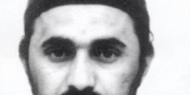 Photo non datée du chef d'Al-Qaida en Irak, Abou Moussab Al-Zarkaoui.