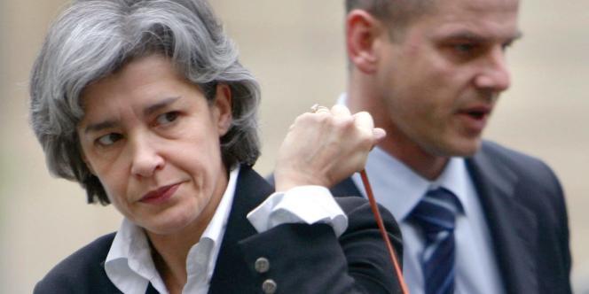 Claudie Haignere, ministre déléguée aux Affaires européennes. le 30 mai 2005.