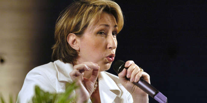 Marie-Anne Montchamp quand elle était secrétaire d'Etat aux personnes handicapées, en 2005.
