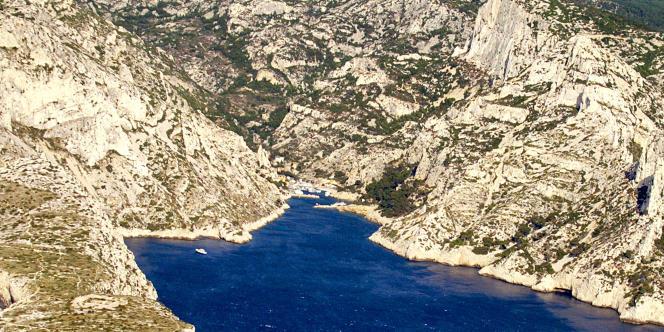 Le parc national des Calanques, près de Marseille.