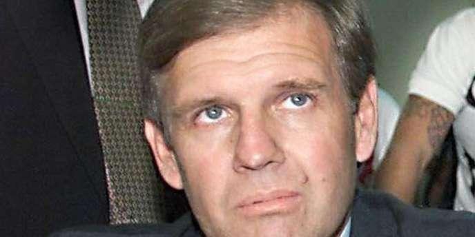 L'ex-capitaine de frégate Alfredo Astiz, ici en 25 février 2002, lors de son procès, à Buenos Aires.
