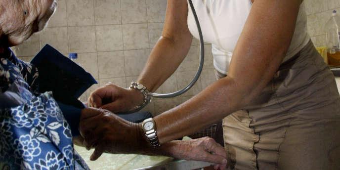 Les effectifs d'infirmiers libéraux présents en zones