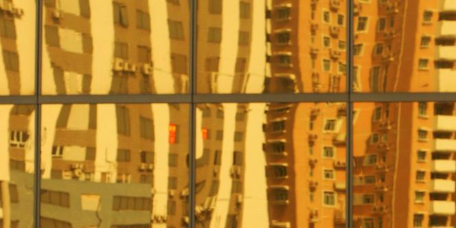 Quartier résidentiel à Macao, en novembre 2004.