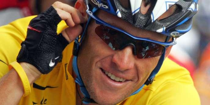 L'Américain Lance Armstrong.