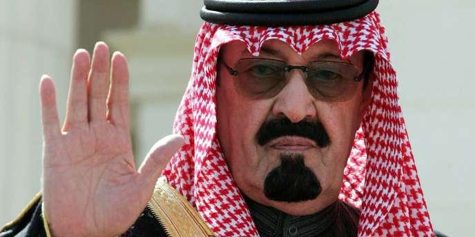 Le prince héritier Abdallah ben Abdel Aziz – ici à Riyad le 5 février 2005.