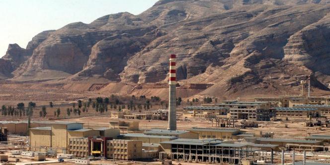 Photographie de l'installation nucléaire iranienne d'Ispahan, à 410 km de Téhéran, datée du 30 mars 2005.