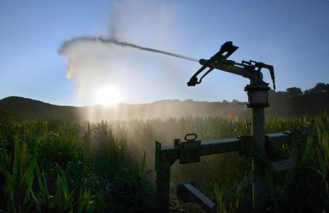 La plupart des aquifères sont désormais en baisse