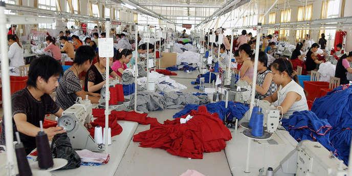 Entre janvier et août 2012, les exportations chinoises vers l'Afrique ont augmenté de 12 % par rapport à la même période de 2011. Ici, une usine à Wuhu, au sud-est de la province de l'Anhui en Chine.