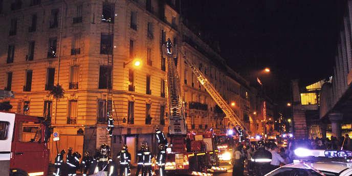 Dans la nuit du 25 au 26 août 2005, un terrible incendie s'était déclaré dans la cage d'escalier d'un immeuble du boulevard Vincent-Auriol dans le 13e arrondissement de Paris.