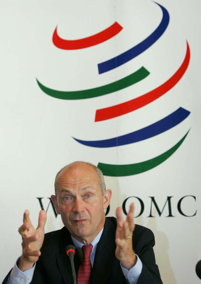 Le directeur général de l'OMC, Pascal Lamy, a souligné dans un communiqué que le