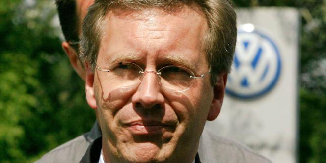 Christian Wulff est président du pays depuis juin 2010.