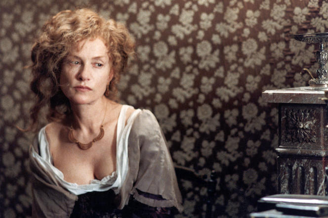 L'actrice Isabelle Huppert dans le film français de Patrice Chéreau,