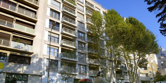 Immeuble à Marseille.