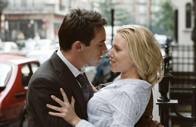 Jonathan Rhys Meyers et Scarlett Johansson dans le film américain de Woody Allen,