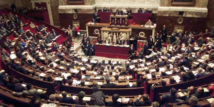 Lors d'une séance de questions au gouvernement, à l'Assemblée nationale.
