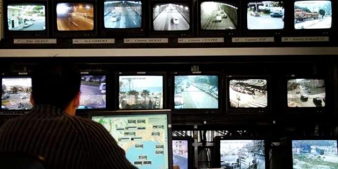 280 caméras sont placées un peu partout à Cannes.