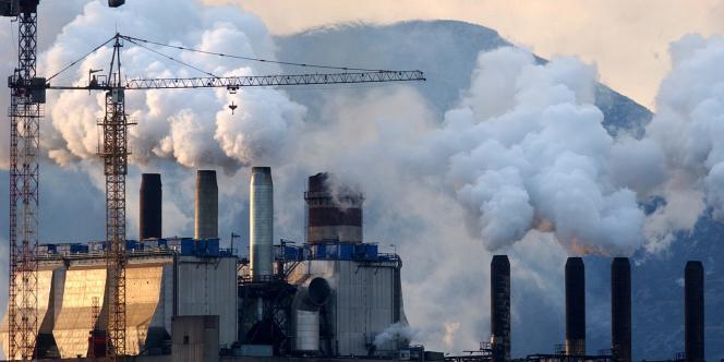 Le taux de CO2  dans l'air est au plus haut depuis plus de 2,5 millions d'années.
