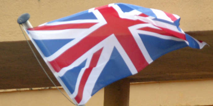 Le drapeau britannique.