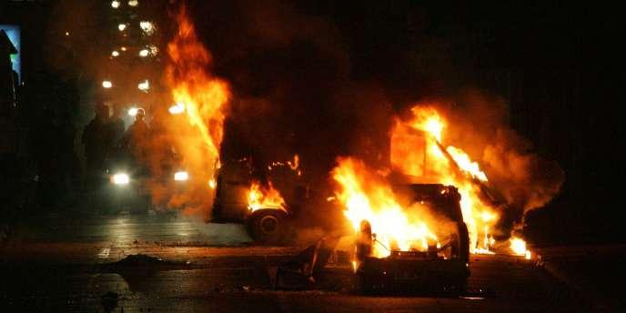 A l'automne 2005, une vague de violences avait éclaté dans plusieurs dizaines de banlieues françaises, à la suite de la mort de deux jeunes gens à Clichy-sous-Bois (Seine-Saint-Denis).