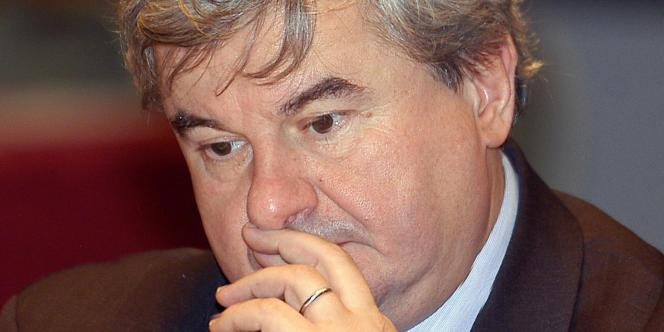Eric Raoult, maire du Raincy.