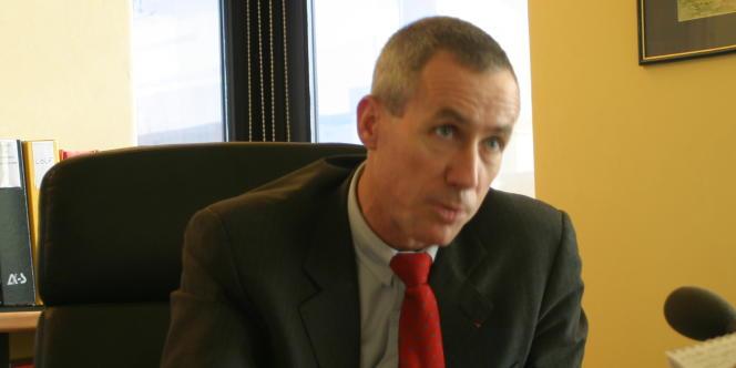 François Molins, alors procureur de la République au tribunal de Bobigny, en novembre 2005.