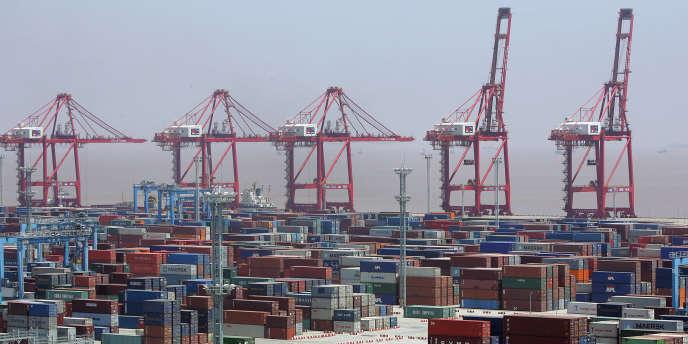 Le port de Ningbo, en Chine (est).