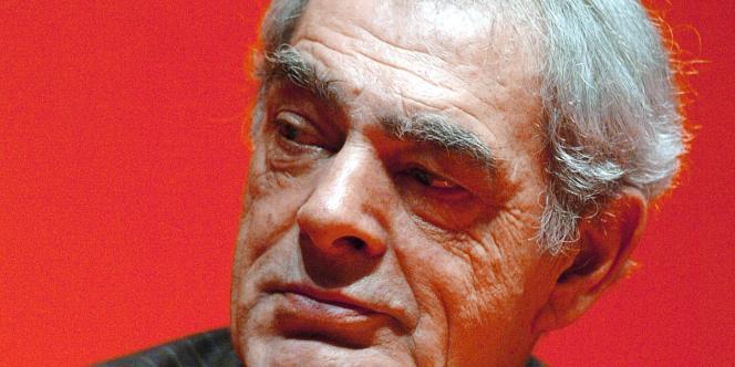Henri Emmanuelli, député PS des Landes et président de la commission d'enquête sur la spéculation.