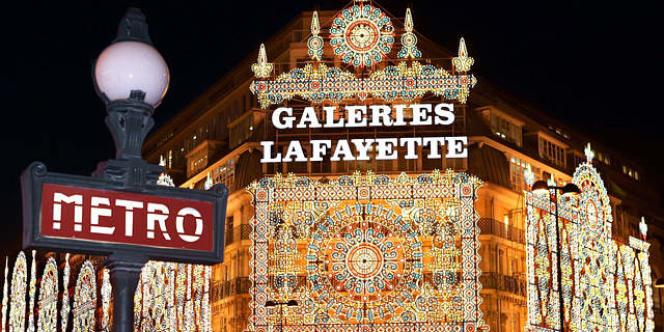 En dix ans, le chiffre d'affaires des Galeries Lafayette a augmenté de près d'un tiers.
