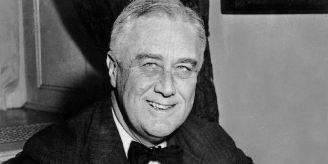 Franklin D. Roosevelt, président des Etats-Unis de 1933 à 1945.