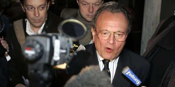 Le député UMP du Nord Christian Vanneste, le 13 décembre 2005.
