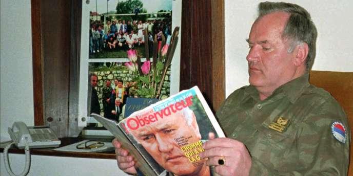 Le général serbe Ratko Mladic, accusé de