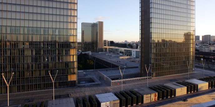 Le site François-Mitterrand de la Bibliothèque nationale de France à Paris.