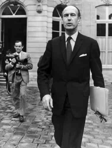 Valéry Giscard d'Estaing en 1978.