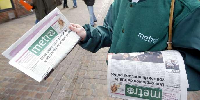 Le gratuit Métro - racheté en juillet 2011 par TF1 à 100% - veut être rentable dans moins de trois ans.