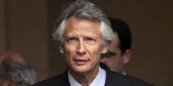 Le premier ministre, Dominique de Villepin, en 2006.