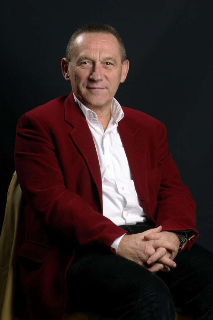 Le philosophe Yves Michaud à Lyon,en 2003.