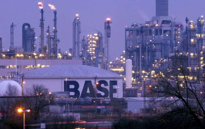 Le complexe chimique de BASF à Ludwigshafen.