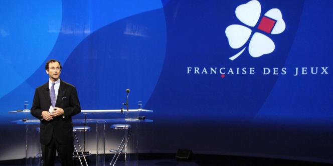 Christophe Blanchard-Dignac, président-directeur général de La Française des jeux, en mai 2006.