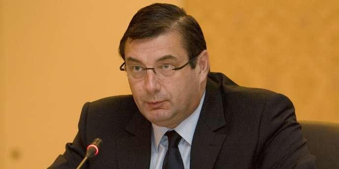 Jean-François Lamour, ancien ministre des sports (2002-2007).