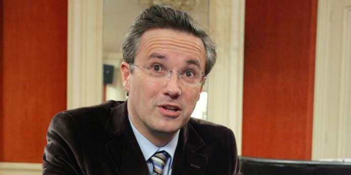 Nicolas Dupont-Aignan, en janvier 2007 à Bordeaux.